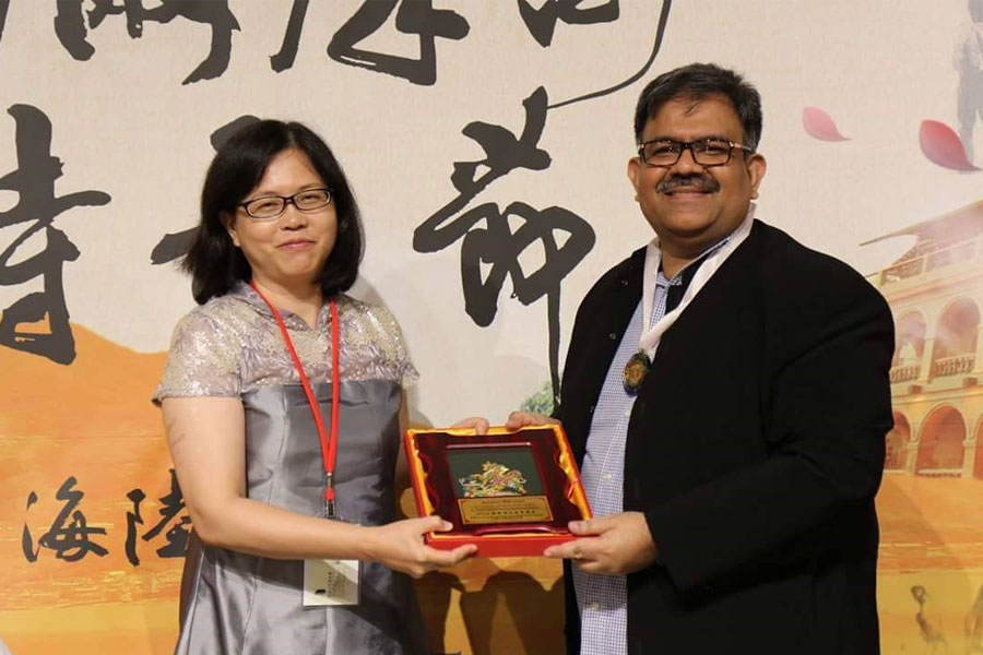 Contribution Award for International Poetry (2016) - Taiwan