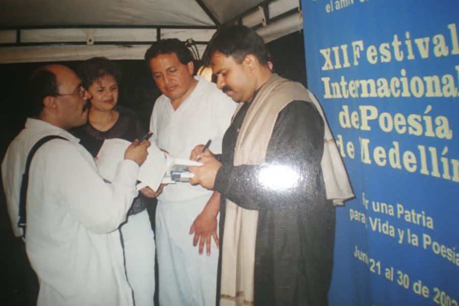 Medellin International Poetry Festival 2002 - Colombia